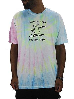 camiseta lakai breaking curbs