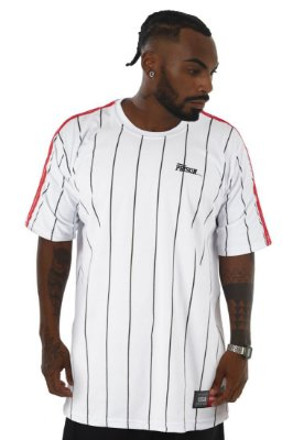 Camiseta Prison Stripe white