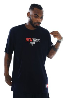 camiseta prison new york preta duo