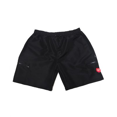 short blaze black pocket