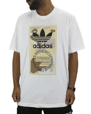 camiseta adidas originals mark