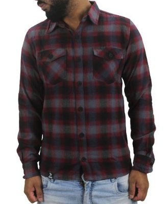 CAMISA GROW FLANELA RED