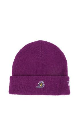 GORRO NEW ERA LOS ANGELES LAKERS PURPLE