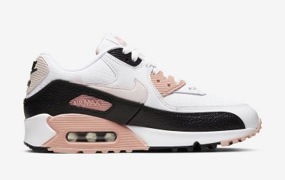 Tênis nike air max 90 ltr (gs) pink black