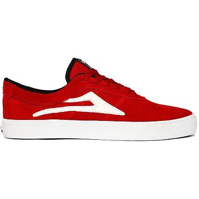 Tênis lakai sheffield sd red/white