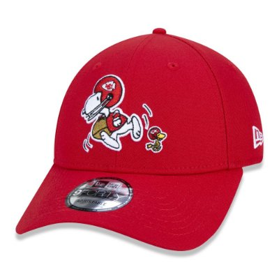 BONÉ NEW ERA 9FORTY NFL KANSAS CITY CHIEFS PEANUTS - SNOOPY