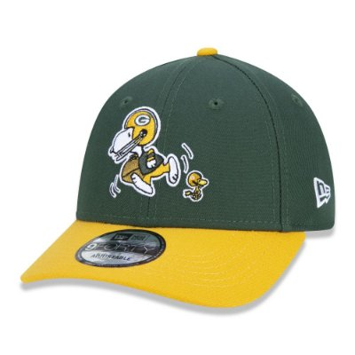 BONÉ NEW ERA 9FORTY NFL GREEN BAY PACKERS PEANUTS - SNOOPY
