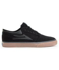 TÊNIS LAKAI GRIFFIN SD BLACK/GUM