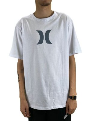 CAMISETA HURLEY ICON TEE WHITE