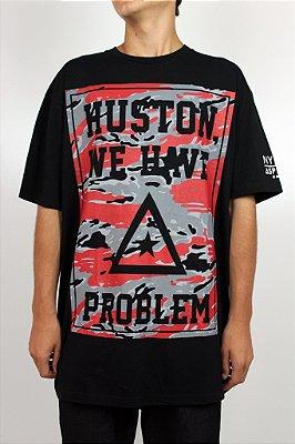 Camiseta Asphalt Huston Problems Preto