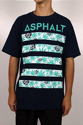 Camiseta Asphalt Royal Kush Print
