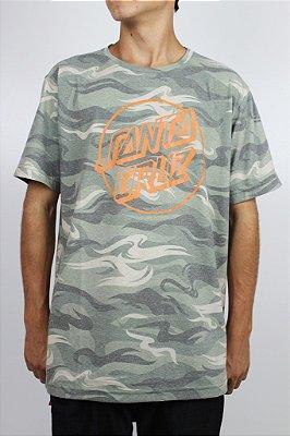 Camiseta Santa Cruz Especial Camo Dot