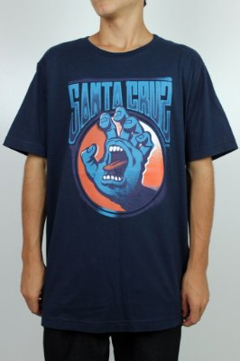 Camiseta Santa Cruz Screaming Hand Tag