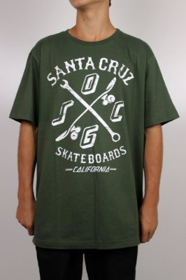 Camiseta Santa Cruz Double Cross