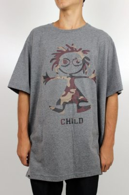 Camiseta Child Logo Camo
