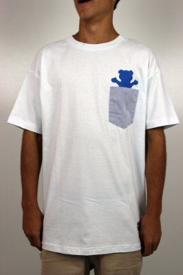 Camiseta Grizzly Chambray Pocket Tee