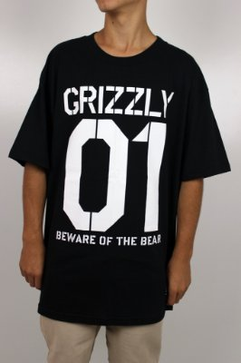 Camiseta Grizzly Beware Stencil Tee