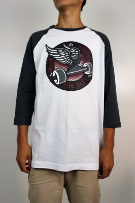 Camiseta Independent Raglan 3/4 Rise