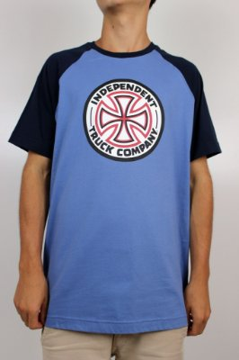 Camiseta Independent Raglan Cross Logo