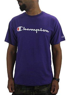 camiseta champion classic roxa