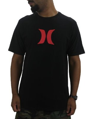 CAMISETA HURLEY ICON RED