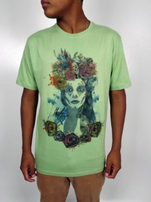 Camiseta Urgh Flower Woman