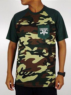 Camiseta Thrasher Camo Verde