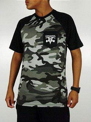 Camiseta Thrasher Camo Preto