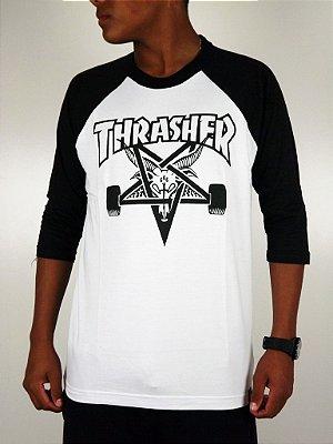 Camiseta Thrasher Raglan 3/4