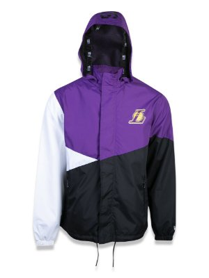 JAQUETA NEW ERA CORTA VENTO (WINDBREAKER) LOS ANGELES LAKERS NBA