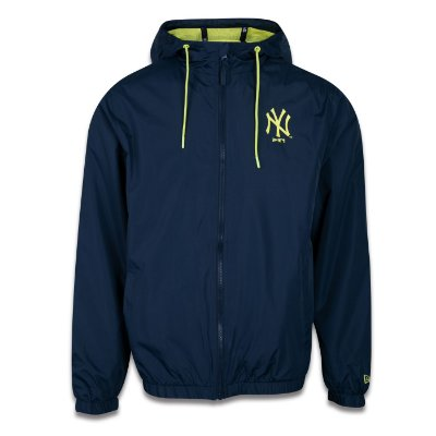 JAQUETA NEW ERA CORTA VENTO MLB NEW YORK YANKEES MARINHO