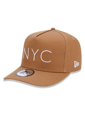 BONÉ NEW ERA 9FORTY NYC NEW YORK CITY KAKI