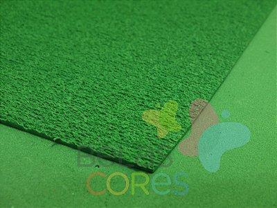 Folha de EVA 40x60cm - Atoalhado Verde Bandeira - 5 unidades