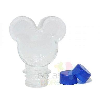 Baleiro/Tubete Mickey 90ml Tampa Azul Royal - 10 unidades
