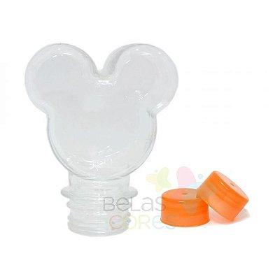 Baleiro/Tubete Mickey 90ml Tampa Laranja - 10 unidades