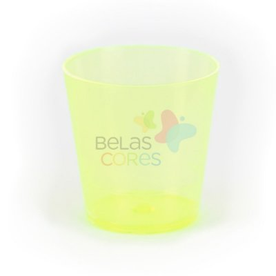 Copinho Para Brigadeiro 25 ml Amarelo - Kit C/ 50 Unidades