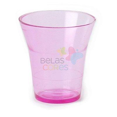 Copinho Cálice 15 ml Rosa - Kit C/ 50 Unidades