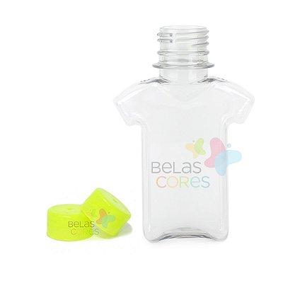 Tubete/Baleiro Pet Camisetinha 120 ml Tampa Verde Claro - 10 unidades
