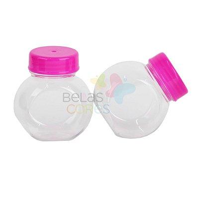 Mini Baleiro 72 ml Tampa Pink - 10 unidades