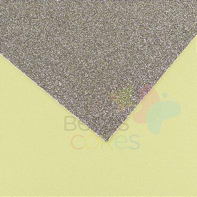Folha de EVA 40x60cm - Glitter Diamante - 5 unidades