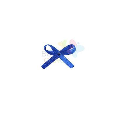 Mini Lacinho de Cetim Mosquitinho Azul Royal - 100 unidades