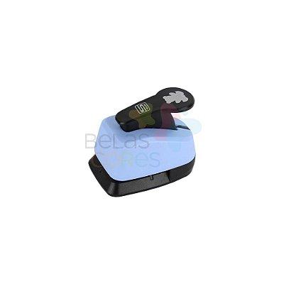 Perfurador Artesanal 16mm Ursinho - 1 unidade