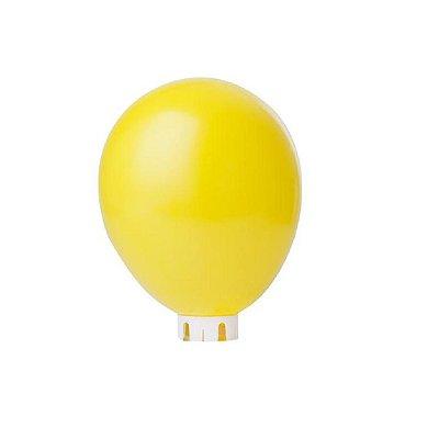 Balão/Bexiga Lisa Amarela Nº 9 - 50 unidades