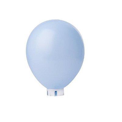 Balão/Bexiga Lisa Azul Claro Nº 9 - 50 unidades