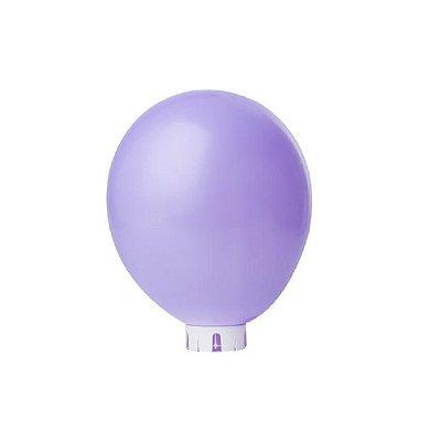 Balão/Bexiga Lisa Lilás Nº 9 - 50 unidades