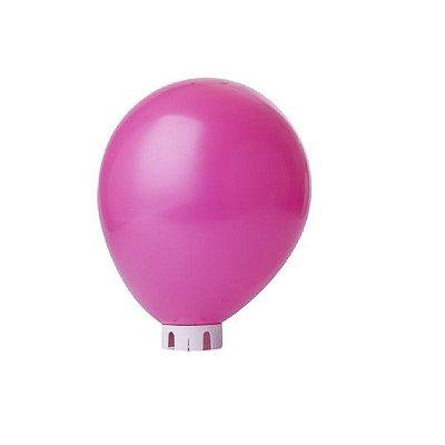 Balão/Bexiga Lisa Pink Nº 9 - 50 unidades