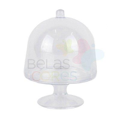 Mini Cúpula Acrílica Transparente - 10 unidades