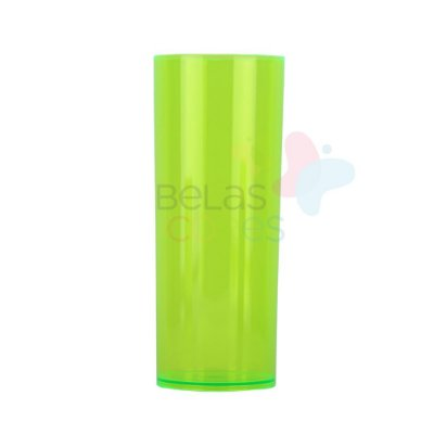 Copos Long Drink 350ml Verde Transparente - 25 unidades