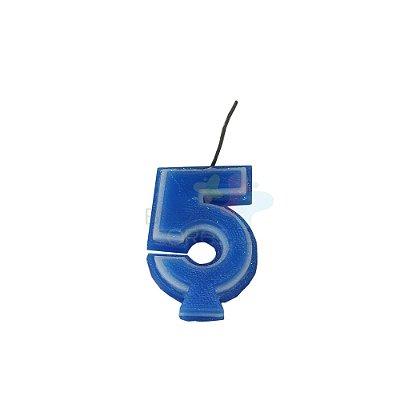 Velas de Aniversário - Numero 5