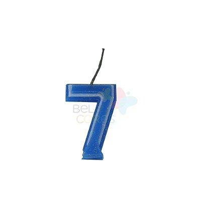 Velas de Aniversário - Numero 7